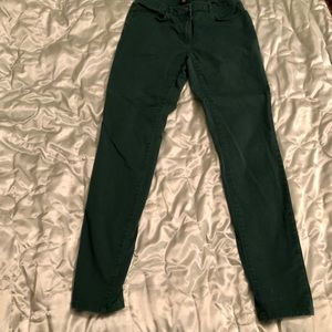 Forest Green Skinny Jeans